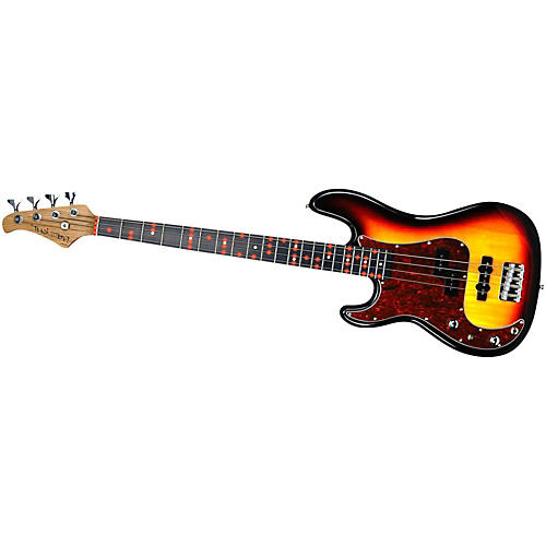 Fretlight FB-525 Left Handed Electric Bass Guitar with Built-in Lighted Learning System thumbnail
