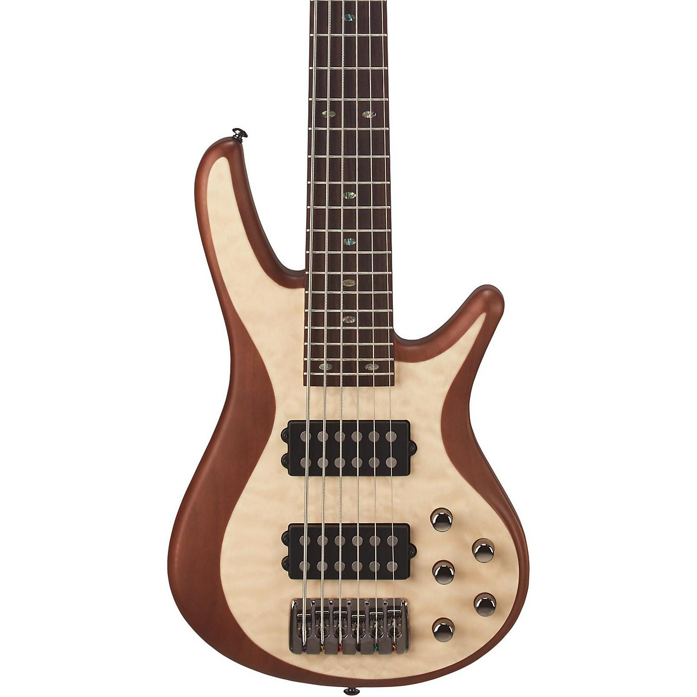 Mitchell FB706 Fusion Series 6-String Bass Guitar with Active EQ thumbnail