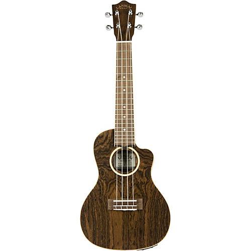 Lanikai FBCET-C Figured Bocote Thin Body Concert Acoustic-Electric Guitar thumbnail