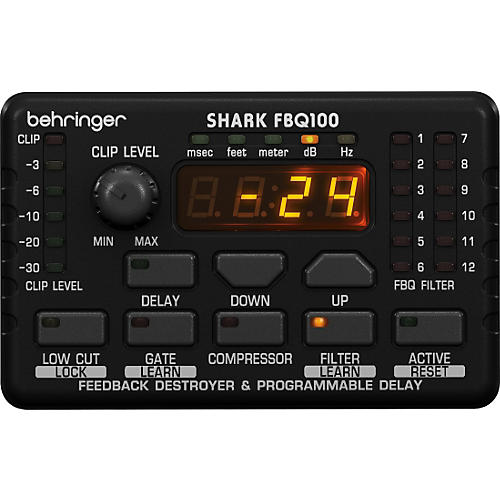 Behringer FBQ100 Shark Automatic Feedback Destroyer-thumbnail