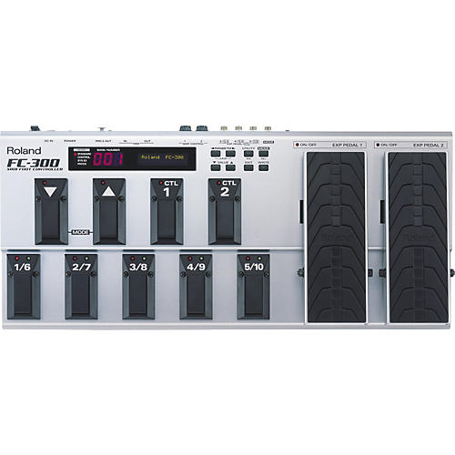 Roland FC-300 MIDI Footswitch Controller thumbnail