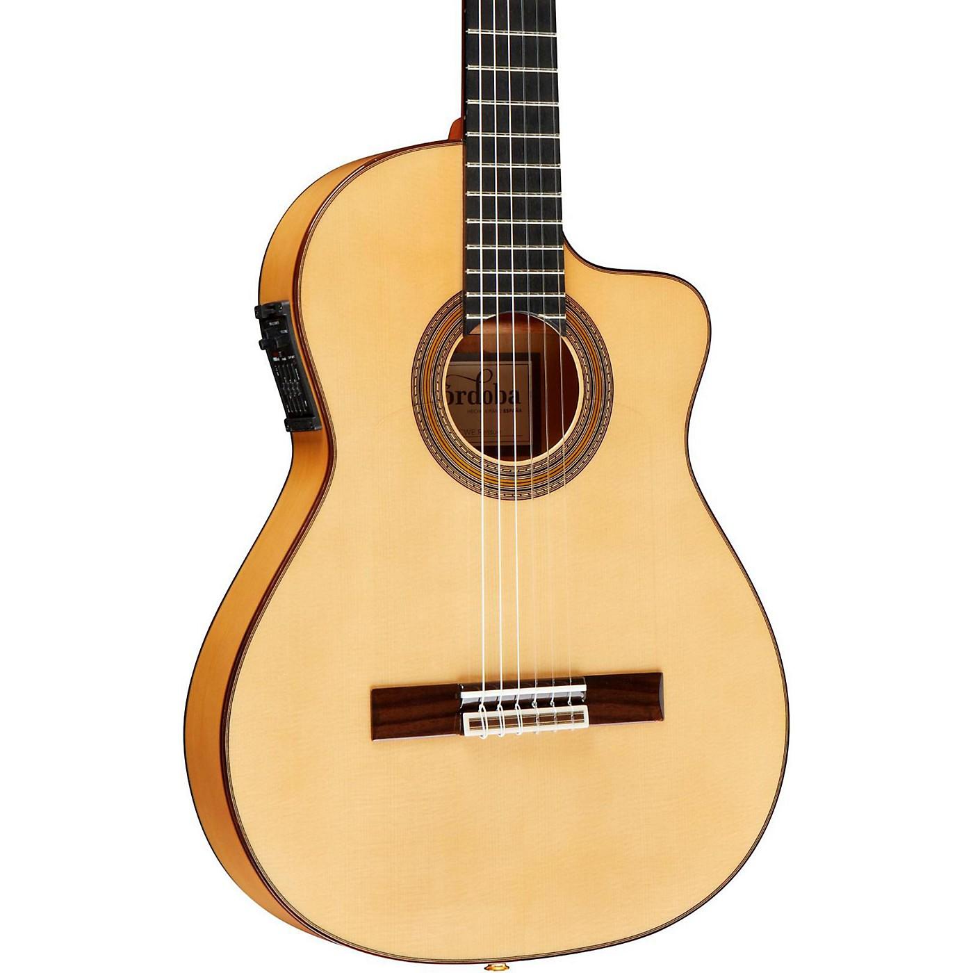 Cordoba FCWE Gipsy Kings Reissue Nylon-String Flamenco Acoustic-Electric Guitar thumbnail