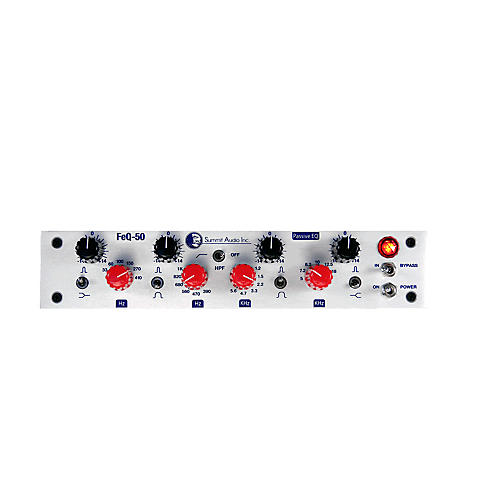 Summit Audio FEQ 50 Passive Tube Solid State EQ thumbnail