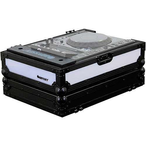 Odyssey FFX2LCDJBL Flight FX Case For Large Format Tabletop CD/Digital Media Player thumbnail