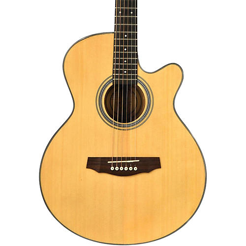 fretlight fg 5 acoustic electric guitar with built in lighted learning system woodwind brasswind. Black Bedroom Furniture Sets. Home Design Ideas
