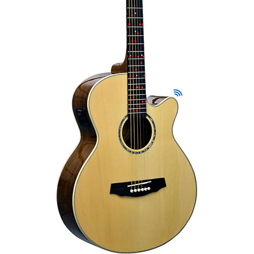 Fretlight FG-629 Wireless Acoustic-Electric Guitar thumbnail