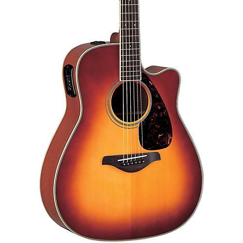 Yamaha FG Series FGX720SC Acoustic-Electric Guitar-thumbnail