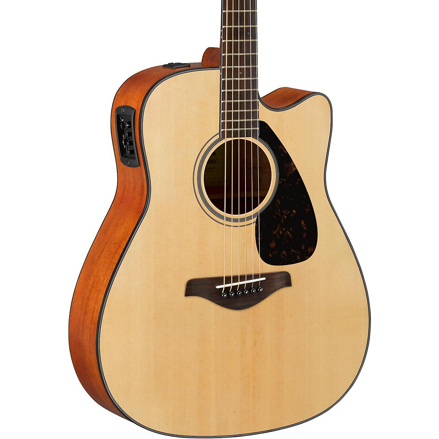 Yamaha FG Series FGX800C Acoustic-Electric Guitar thumbnail