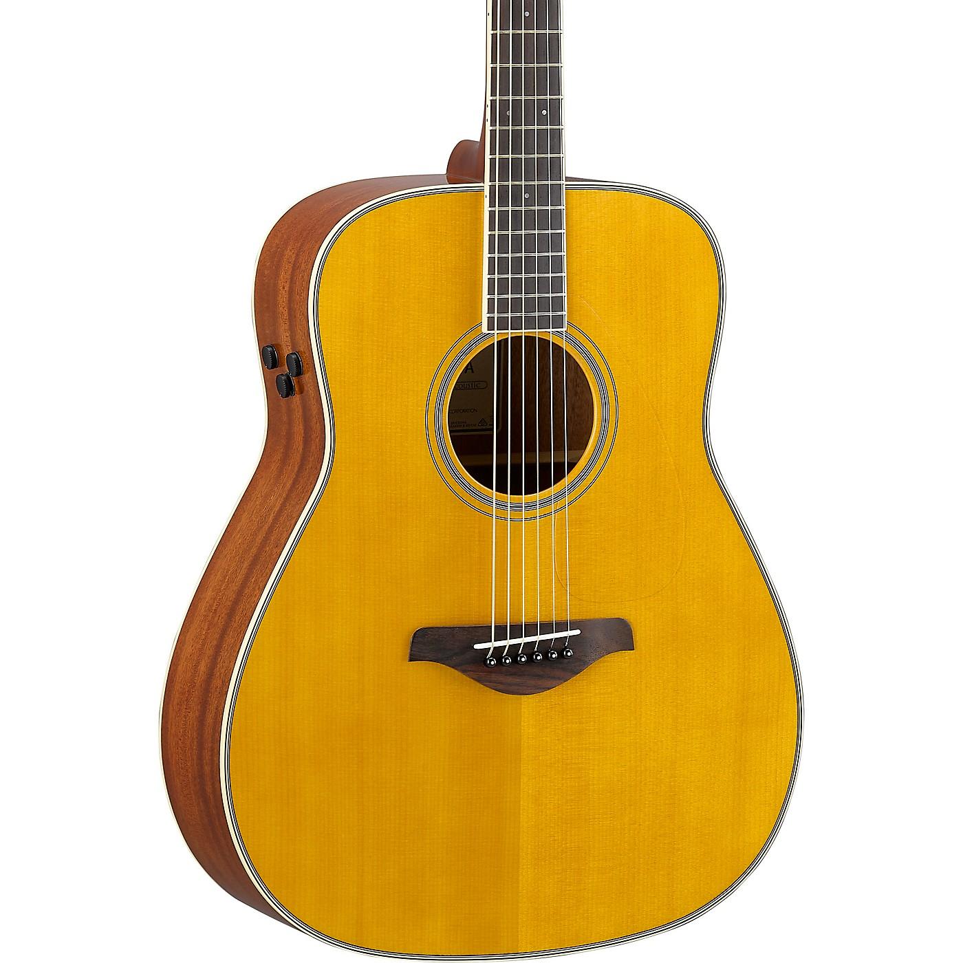 Yamaha FG-TA TransAcoustic Dreadnought Acoustic-Electric Guitar thumbnail