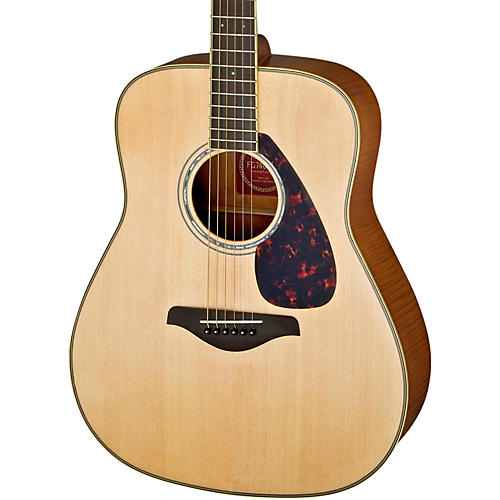 Yamaha FG740S Flame Maple Solid Top Acoustic Guitar-thumbnail