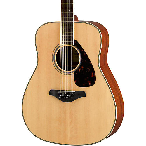 Yamaha FG820-12 Dreadnought 12-String Acoustic Guitar thumbnail