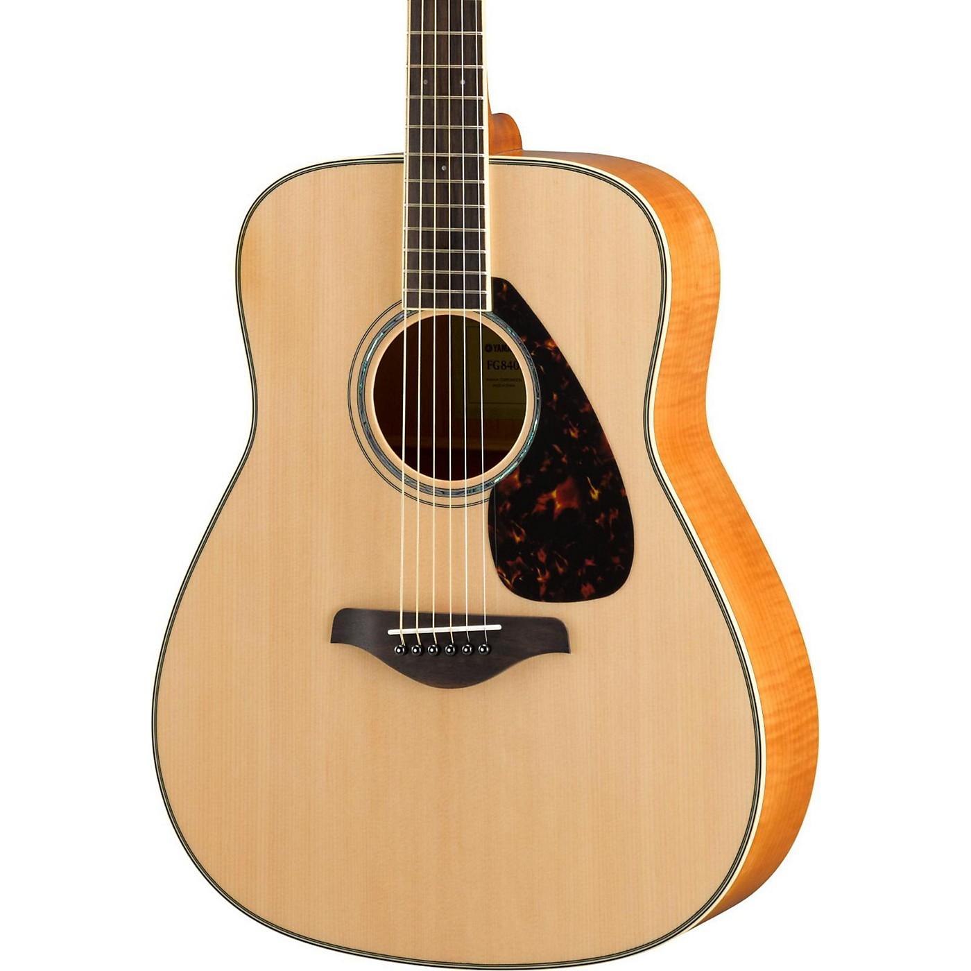 Yamaha FG840 Dreadnought Acoustic Guitar thumbnail
