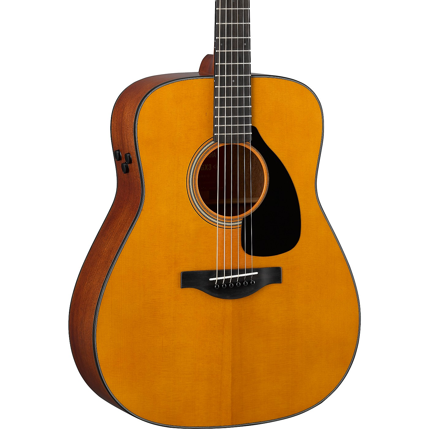 Yamaha FGX3 Red Label Dreadnought Acoustic-Electric Guitar thumbnail
