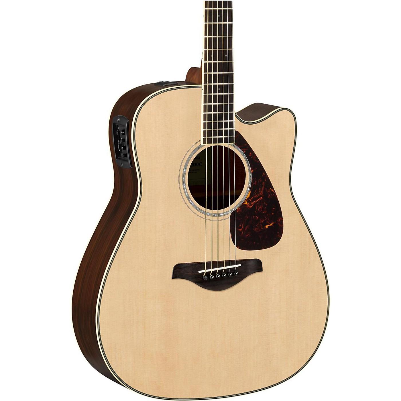 Yamaha FGX830C Folk Acoustic-Electric Guitar thumbnail