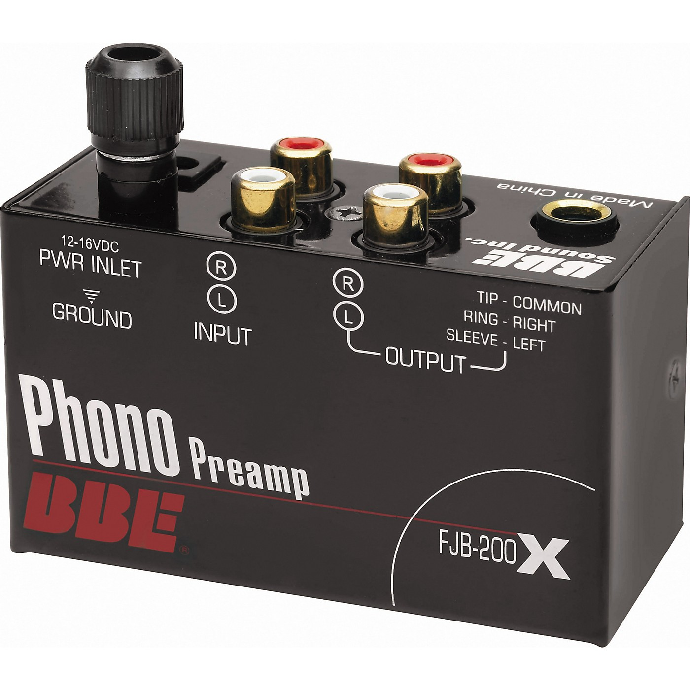 BBE FJB-200X Phono Preamp thumbnail