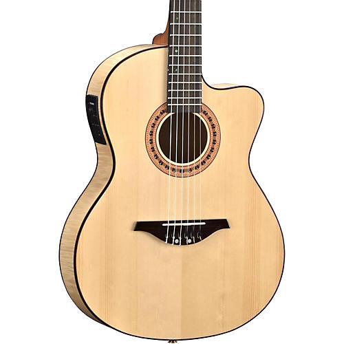 Manuel Rodriguez FLMOD550 Flamenco Moderna Acoustic-Electric Nylon String thumbnail
