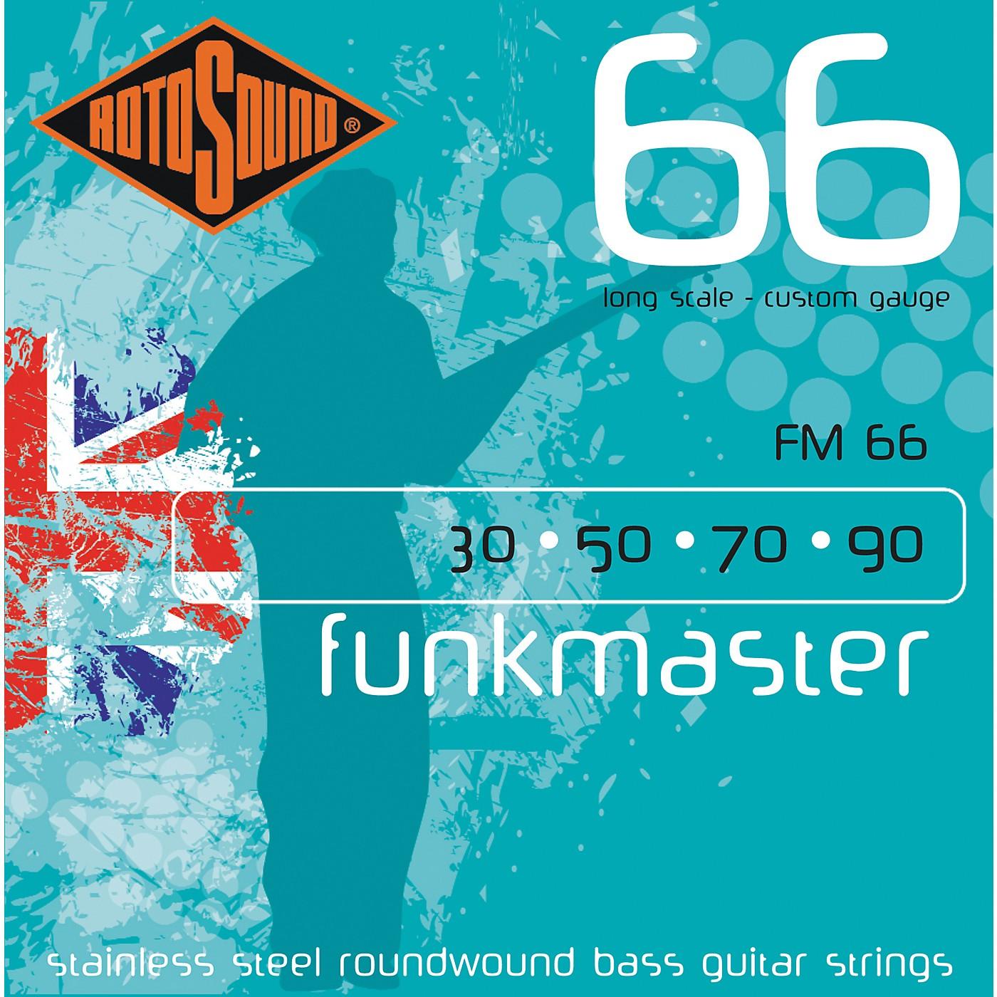 Rotosound FM66 Funk Master Bass Strings thumbnail