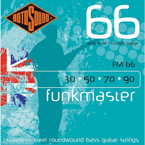 Rotosound FM66 Funk Master Bass Strings thumbnail