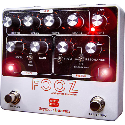Seymour Duncan FOOZ Analog Fuzz Synth Effects Pedal thumbnail