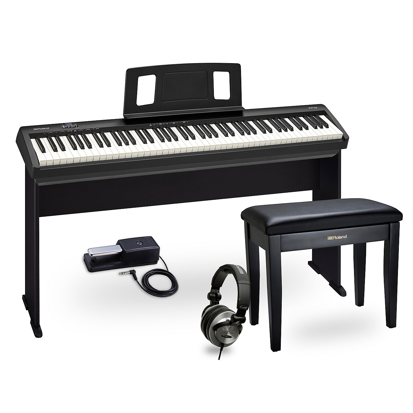 Roland FP-10 Digital Piano Complete Package thumbnail