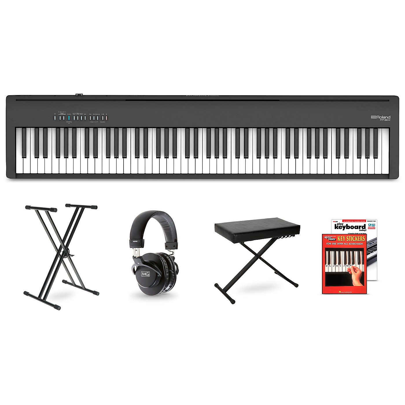 Roland FP-30X Digital Piano Package thumbnail