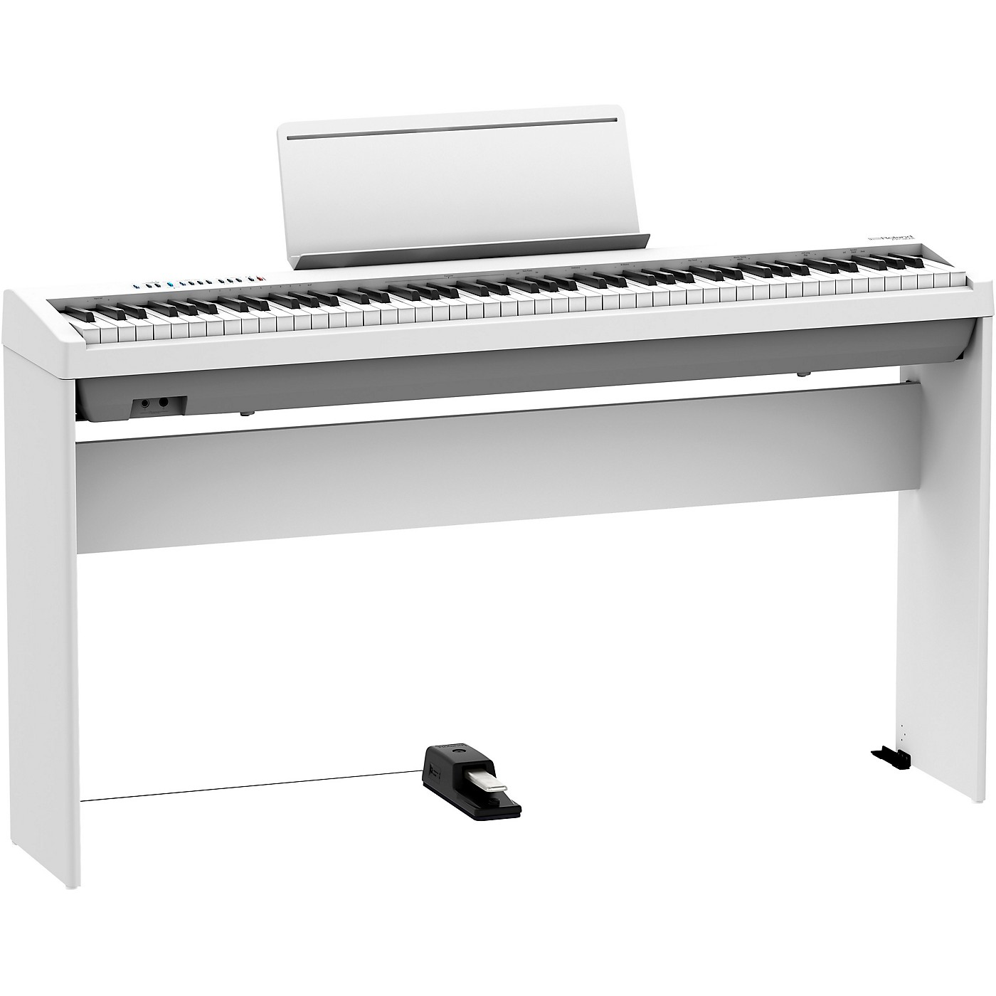 Roland FP-30X Digital Piano with Matching Stand and DP-10 Damper Pedal thumbnail
