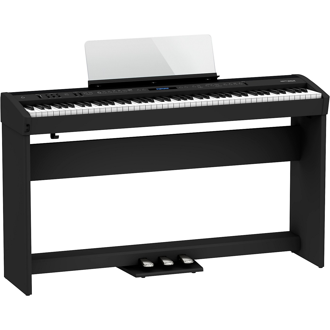 Roland FP-60X Digital Piano with Matching Stand and Pedal Board thumbnail