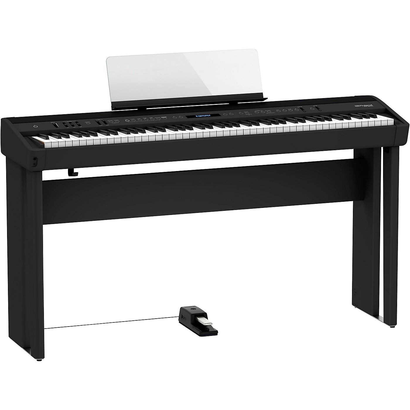 Roland FP-90X Digital Piano with Matching Stand and DP-10 Pedal thumbnail