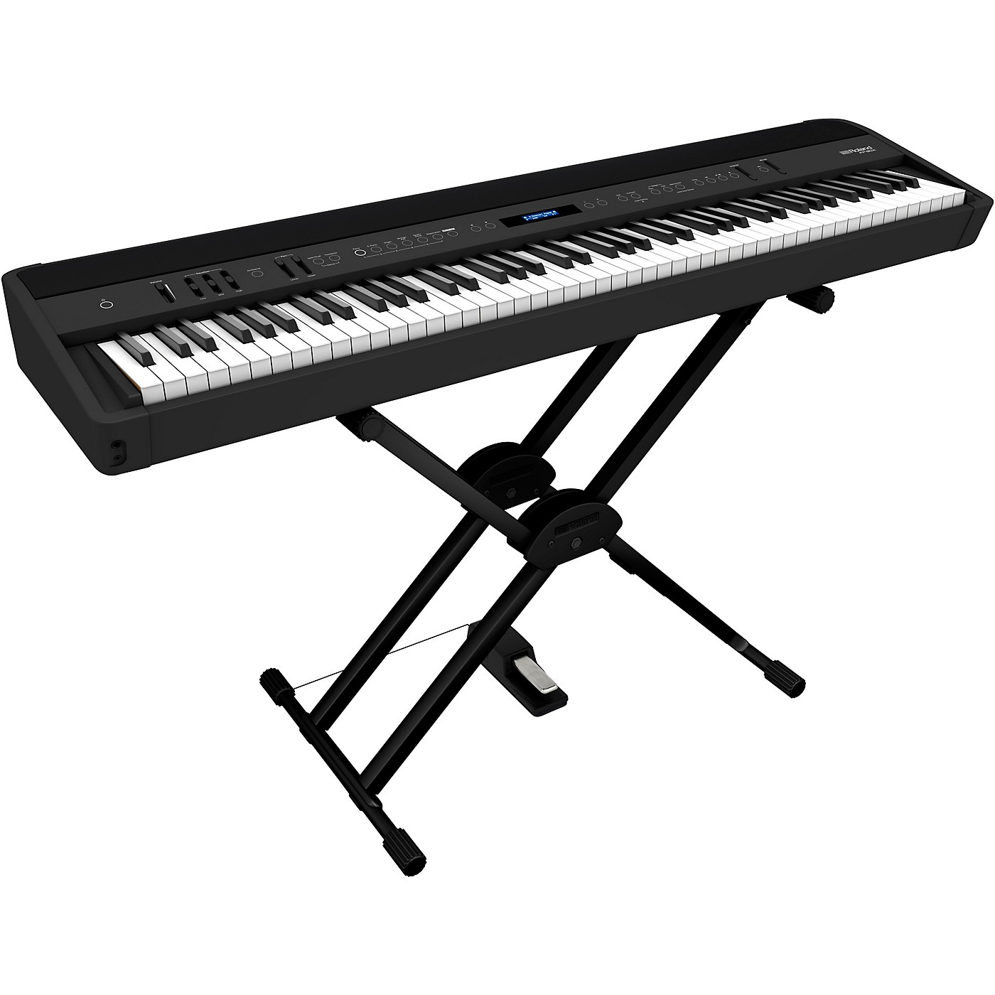 Roland FP-90X Digital Piano with Roland Double Brace X-Stand and DP-10 Pedal thumbnail