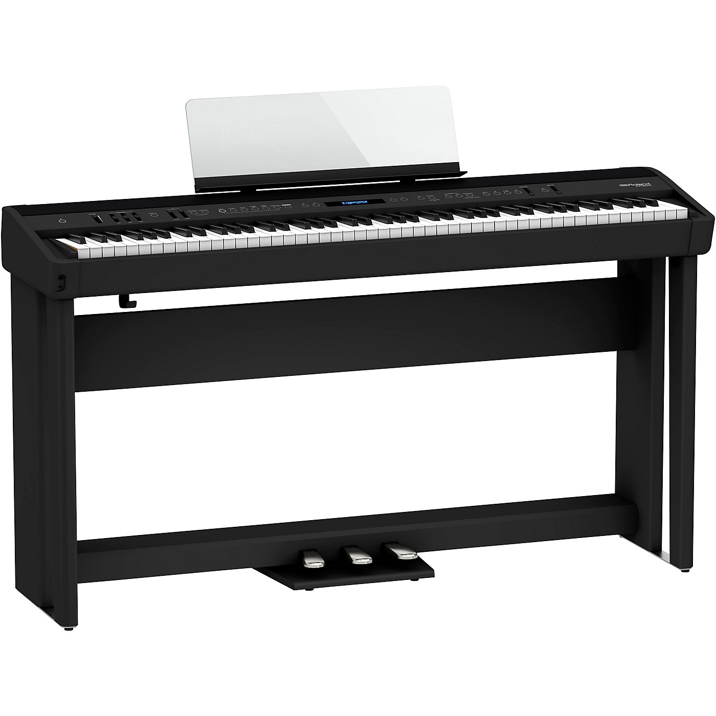 Roland FP-90X Digital Piano with Stand and Pedal Board thumbnail
