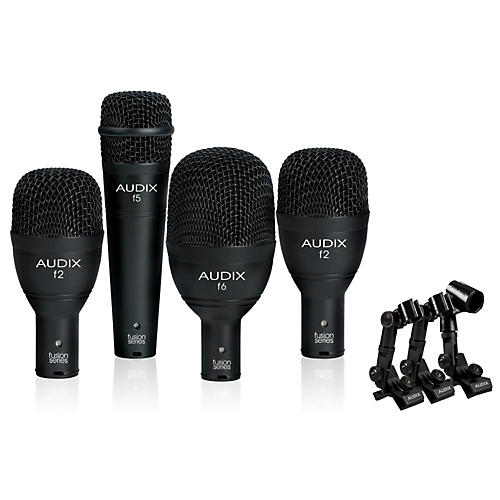 Audix FP4NC 4-Piece Drum Microphone Pack thumbnail