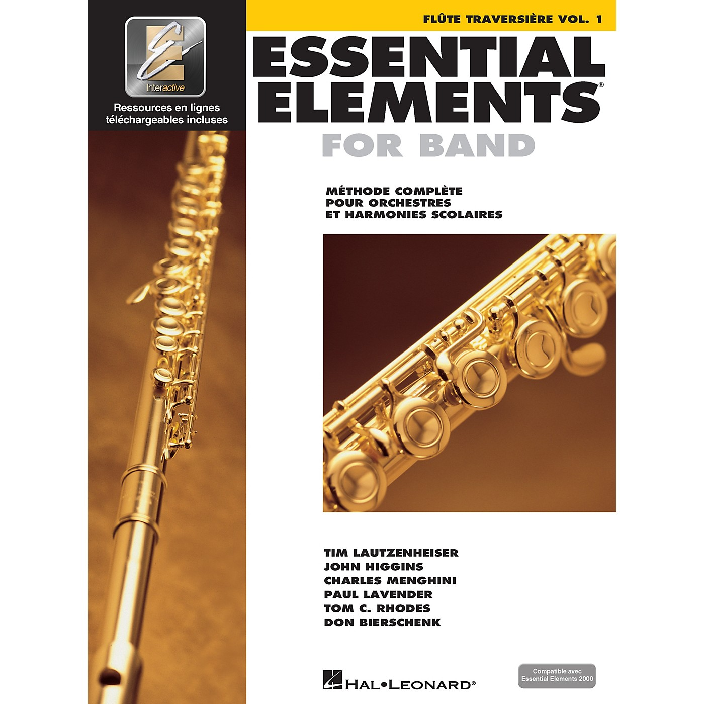 Hal Leonard FRENCH EDITION Essential Elements EE2000 Flute Essential Elements for Band (Book/Online Media) thumbnail