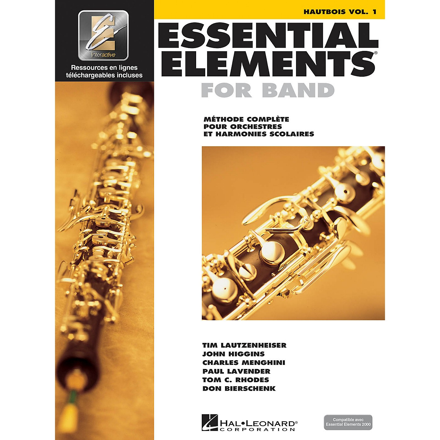 Hal Leonard FRENCH EDITION Essential Elements EE2000 Oboe  (Book/Online Audio) thumbnail