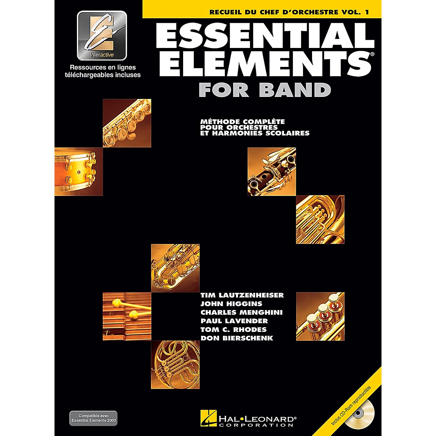 Hal Leonard FRNCH EDITION Essential Elements 2000 Plus DVD (Conductor's Score) Concert Band thumbnail