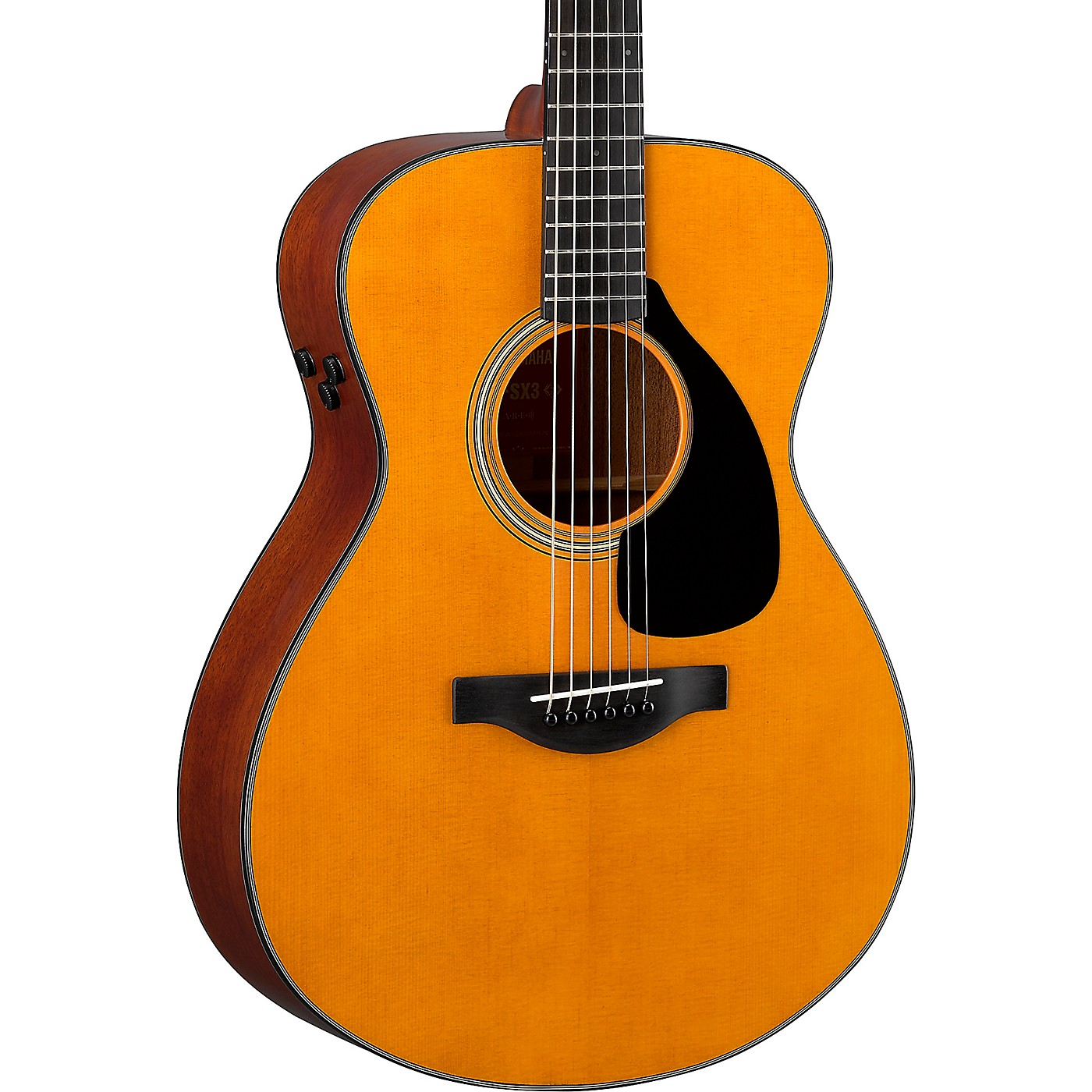 Yamaha FSX3 Red Label Concert Acoustic-Electric Guitar thumbnail