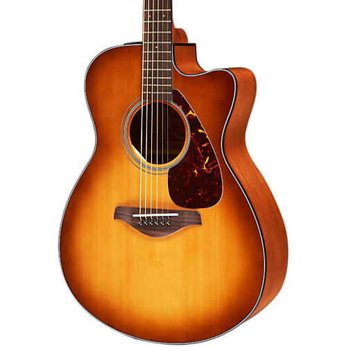 Yamaha FSX700SC Solid Top Concert Cutaway Acoustic-Electric Guitar thumbnail
