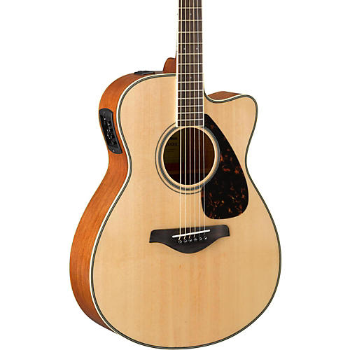 Yamaha FSX820C Small Body Acoustic-Electric Guitar thumbnail