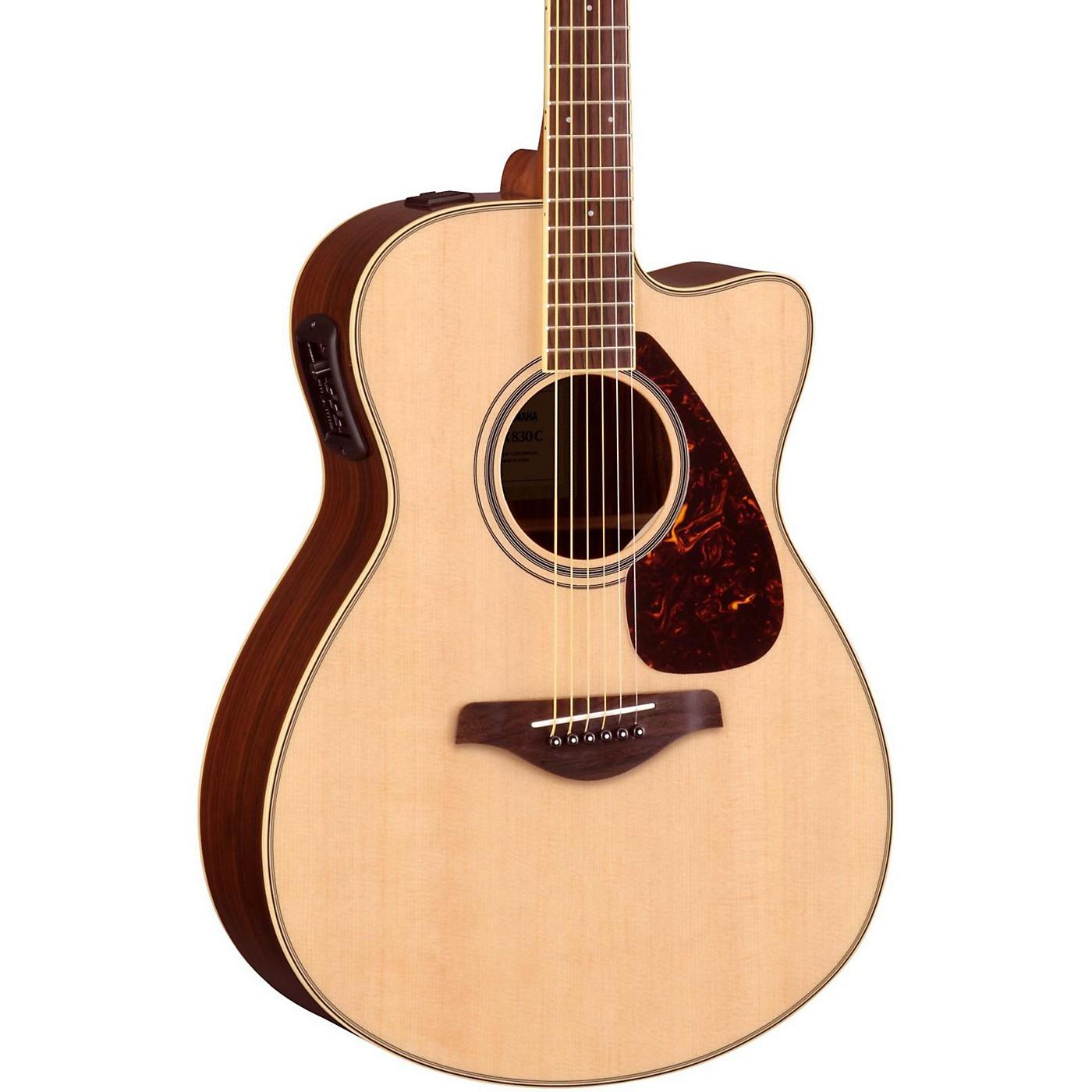 Yamaha FSX830C Acoustic-Electric Guitar thumbnail