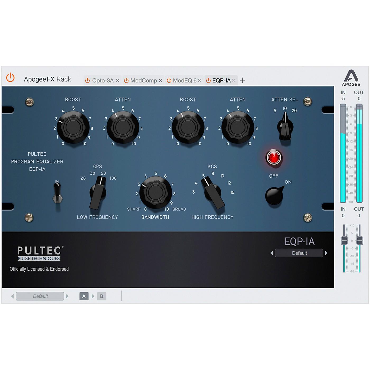 Apogee FX Rack Pultec EQP-1A Program Equalizer thumbnail