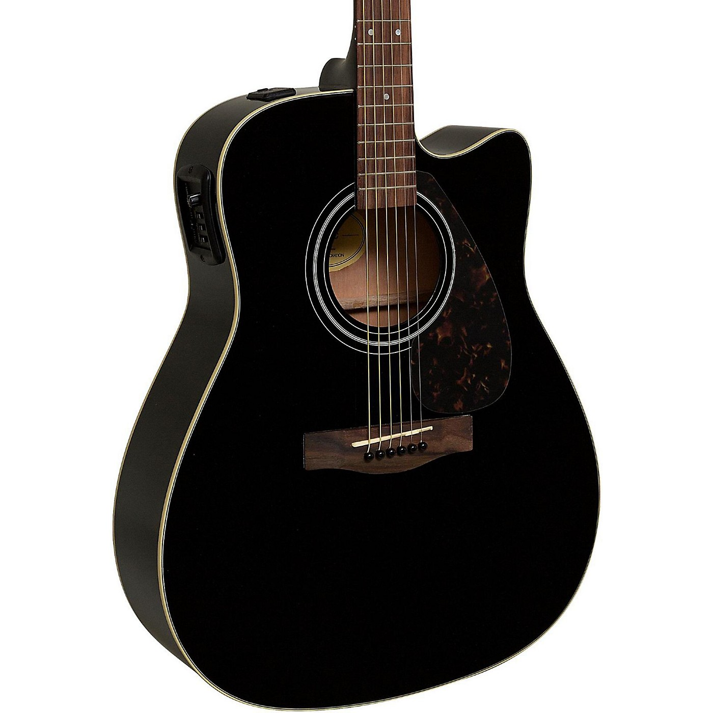 Yamaha FX335C Dreadnought Acoustic-Electric Guitar thumbnail