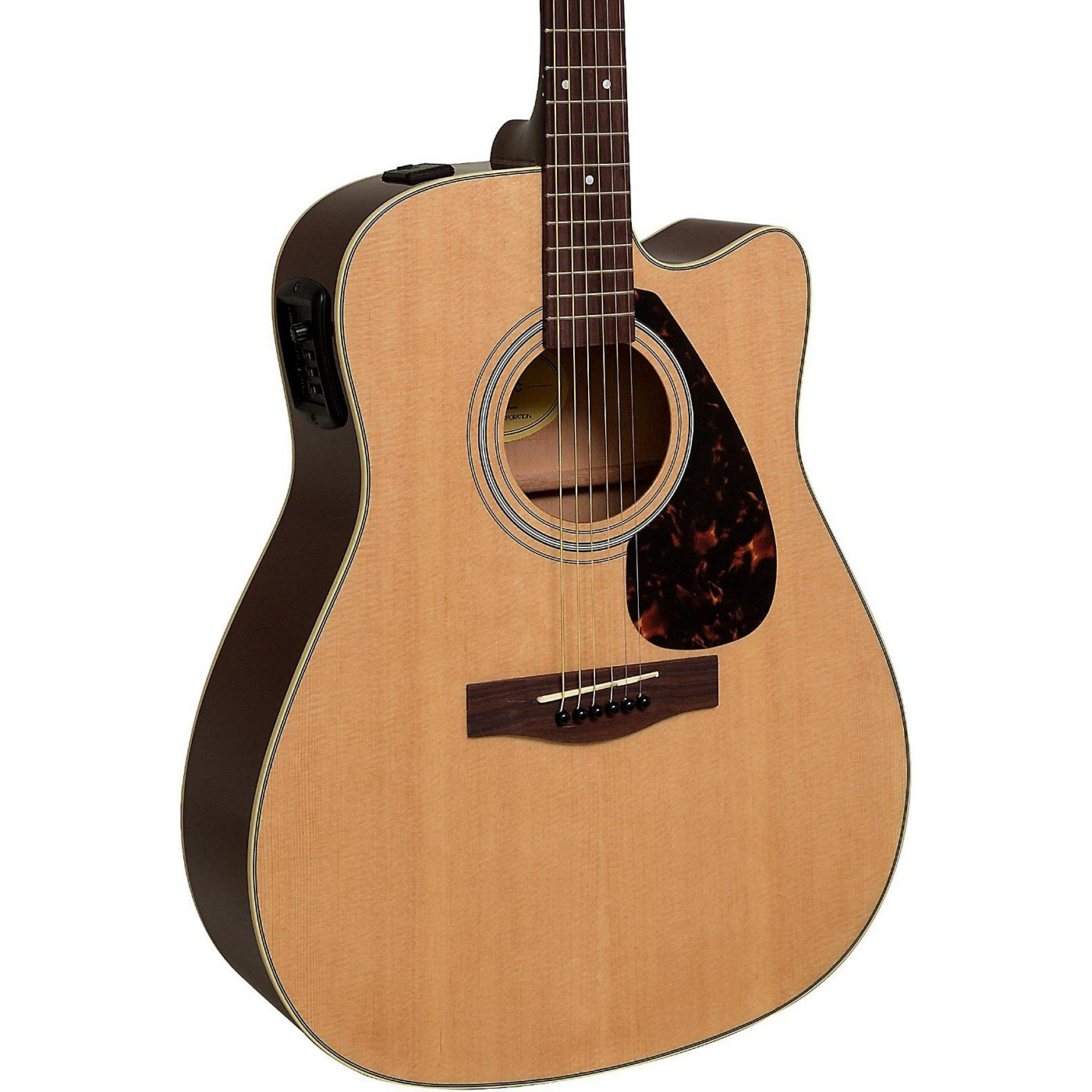 Yamaha FX335C Dreadnought Acoustic-Electric Guitar thumbnail