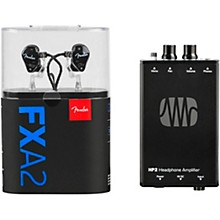 Fender FXA2 In-Ear Monitor with PreSonus HP2 Headphone Amplifier