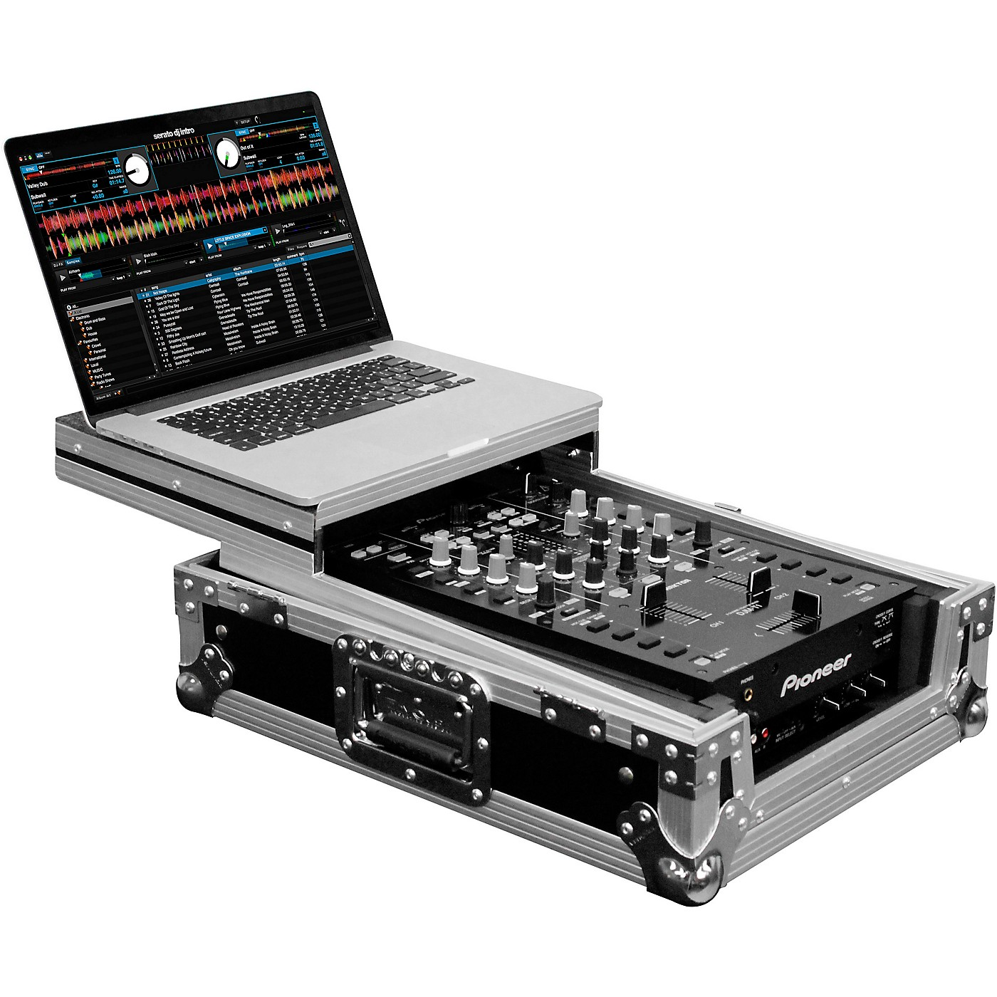 Odyssey FZGS10MX1 Universal 10 in. Format DJ Mixer Case With Glide Platform thumbnail
