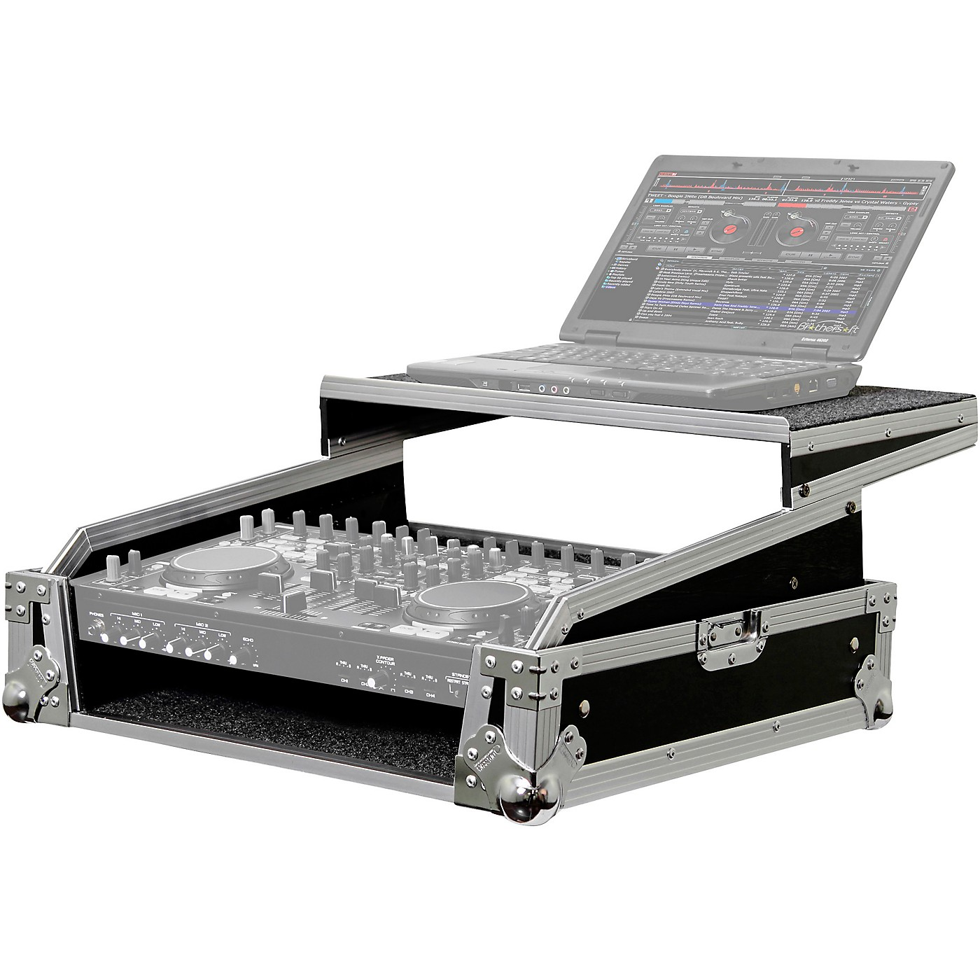 Odyssey FZGS8CDMIX Flight Zone Glide Style Rackmount Case for DJ Controllers & Front Load CD/Digital Media Mixers thumbnail