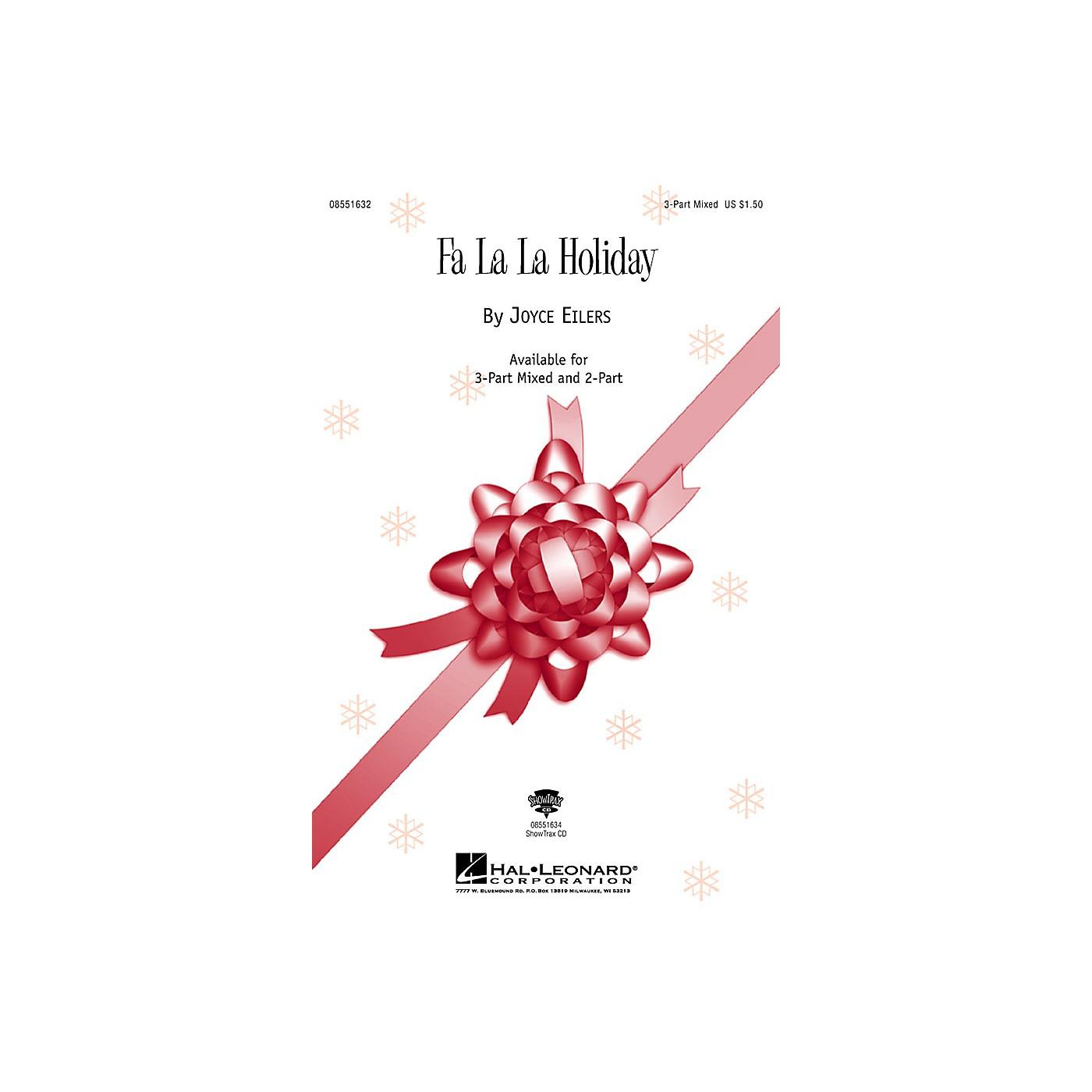 Hal Leonard Fa La La Holiday 3-Part Mixed composed by Joyce Eilers thumbnail