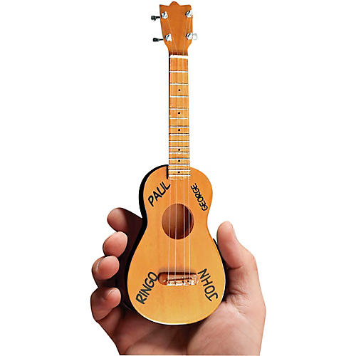 Axe Heaven Fab Four Mini Ukulele Officially Licensed Miniature Guitar Replica thumbnail