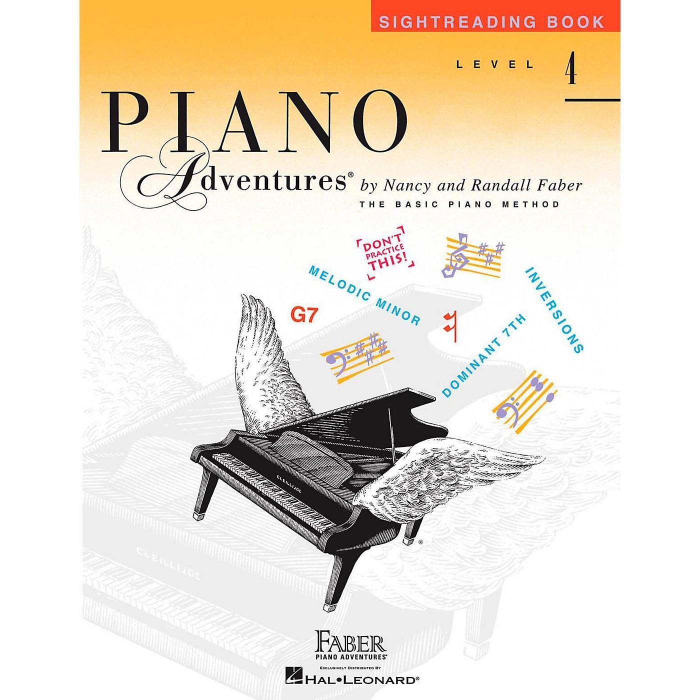 Faber Piano Adventures Faber Piano Adventures Level 4 - Sightreading Book thumbnail