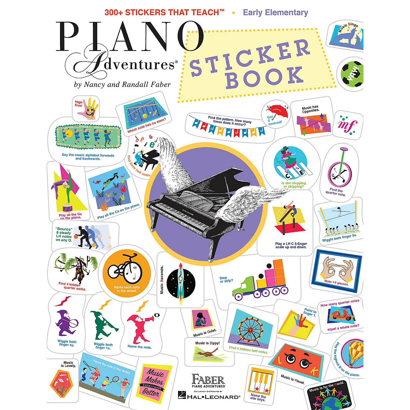 Faber Piano Adventures Faber Piano Adventures Sticker Book thumbnail