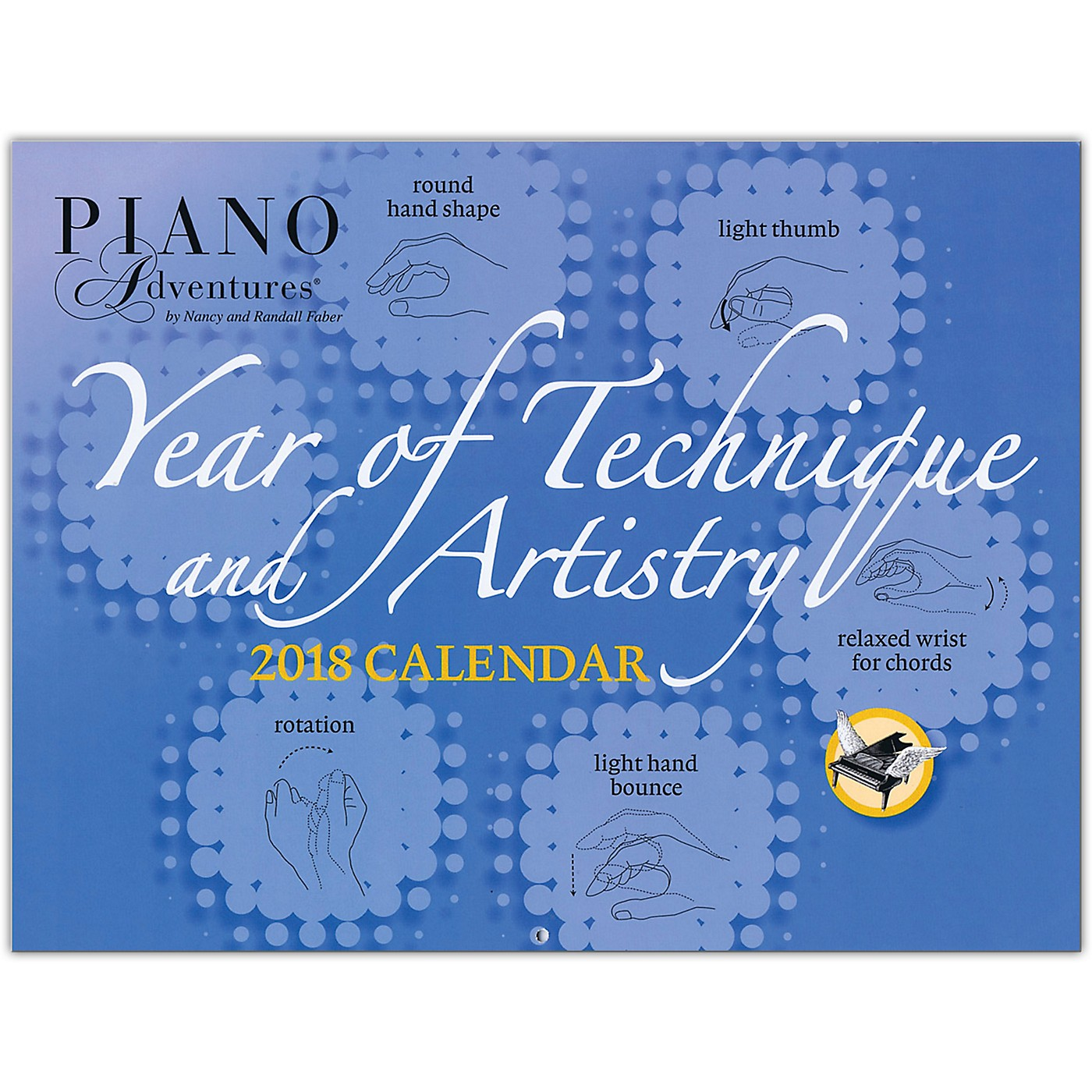 Faber Piano Adventures Faber Piano Adventures Year of Technique & Artistry 2018 Calendar thumbnail