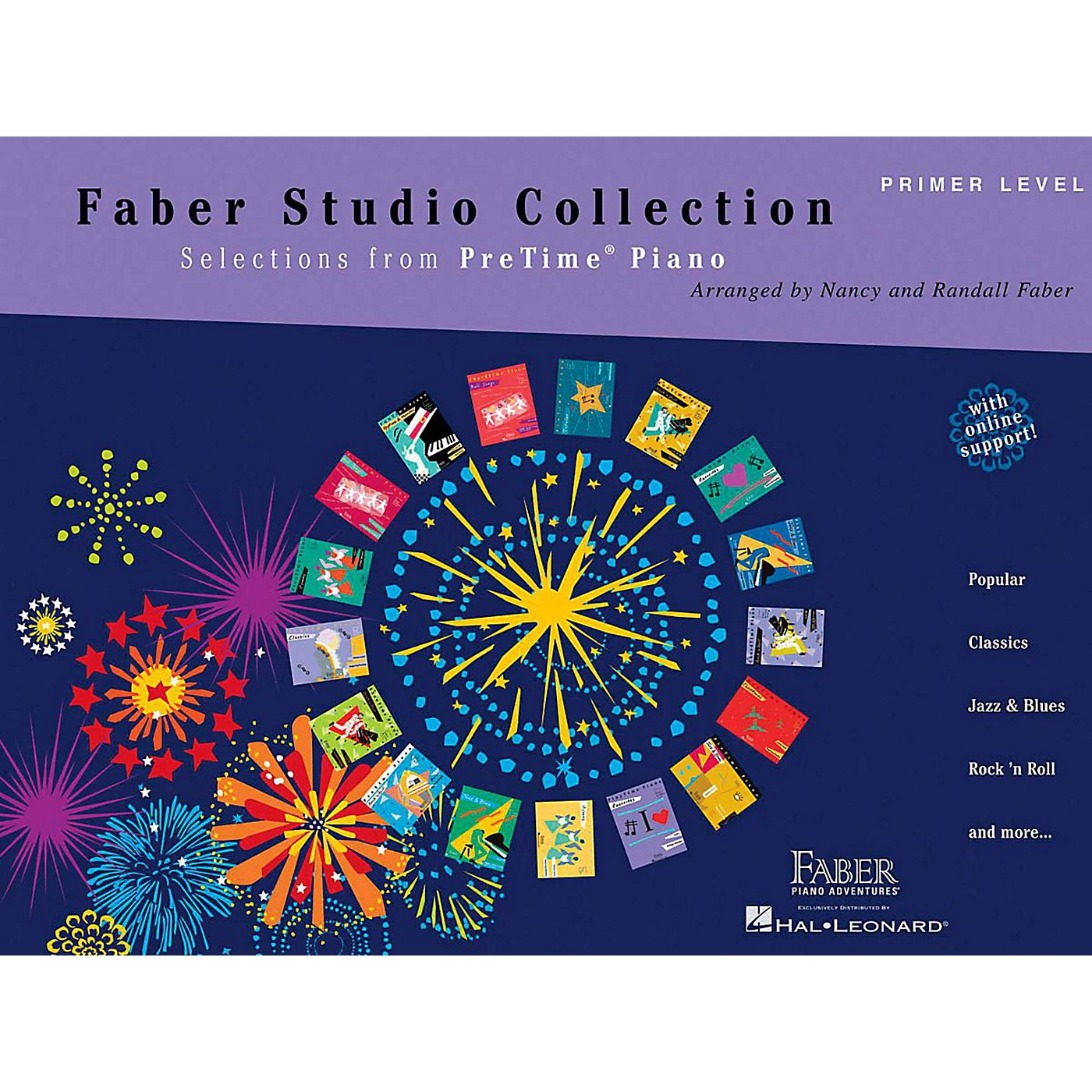 Faber Piano Adventures Faber Studio Collection - Selections from PreTime Piano Primer Level thumbnail